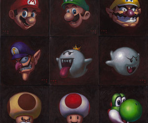 characters, nintendo, and super mario bros image