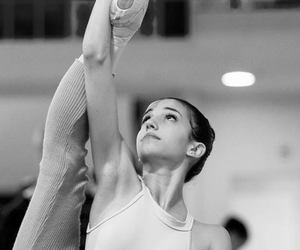 ballerina, warming up, and ballet image