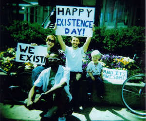 happy and Existence image