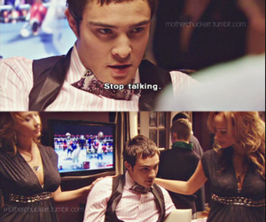 party, chuck bass, and gossip girl image