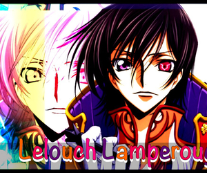 code geass, lelouch, and lamperouge image