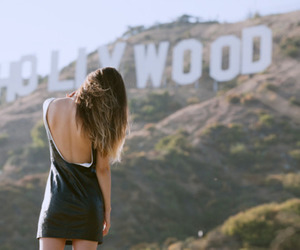 girl, hollywood, and photography image