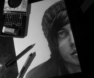 kellin quinn, sleeping with sirens, and art image