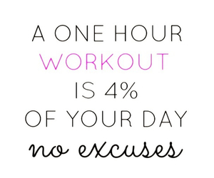 excuses, hour, and no image
