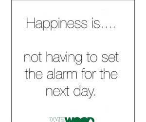 alarm and happiness image