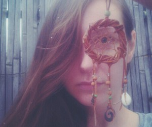 dream catcher, natural, and girls image