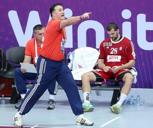 Croatia, handball, and qatar image