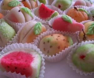 fruit, cake, and mini cake image