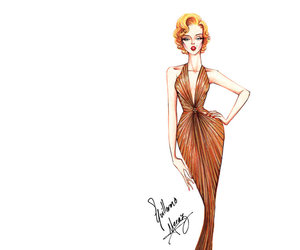 fashion, Marilyn Monroe, and guillermo meraz image