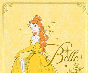 belle and disney image