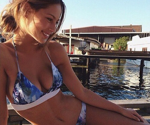 bikini, fit, and summer image