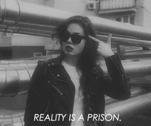 girl, grunge, and prison image