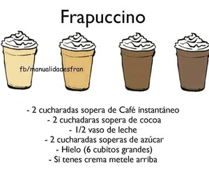 frapuccino, coffee, and drink image