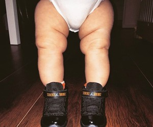 baby, kids, and sneakerhead image