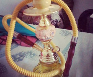 hooka, shisha, and yellow image