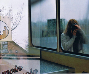 autumn, berlin, and double exposure image