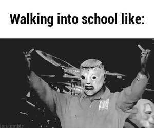 school and slipknot image