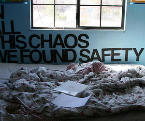 quote, chaos, and safety image