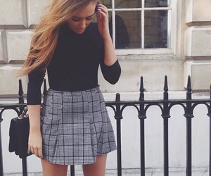 fashion, skirt, and cute image