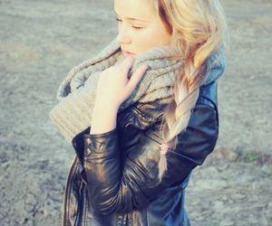 autumn, black, and blonde image