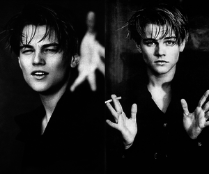 leonardo dicaprio, boy, and Hot image