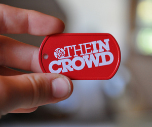 dog tag and we are the in crowd image
