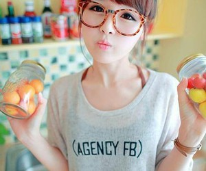 asian, girl, and cute image