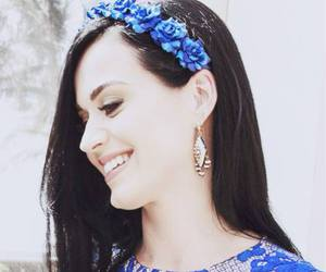 katy perry, blue, and beauty image