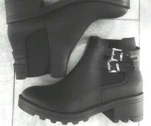 black, boots, and chaussure image