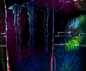 monster, neon, and energydrink image