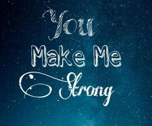 Lyrics, strong, and make image