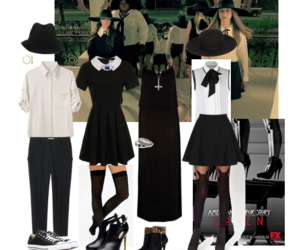 coven, american horror story, and girls image