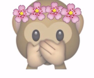 Dream, flowers, and monkey image