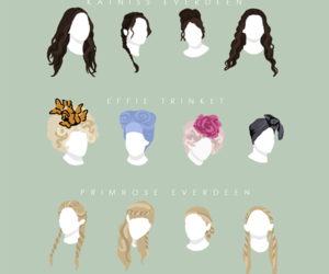 hairstyles, the hunger games, and effie trinket image