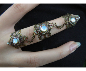 accessories, jewelry, and opal image