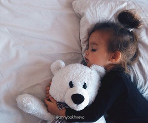 baby, bear, and inspiration image