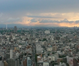 city, cityscape, and escape image