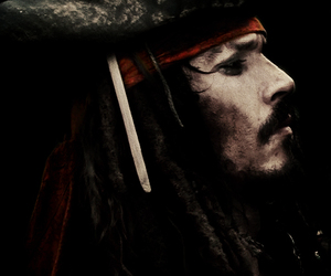 Hot, jack sparrow, and johnny depp image