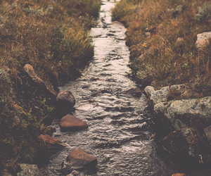 nature, river, and water image