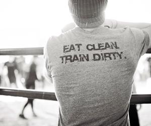 dirty, train, and eat image