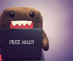 hug, free hugs, and domo image