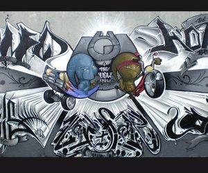 graffiti, mural, and wild image
