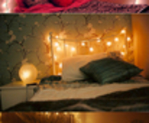 bedroom and light image