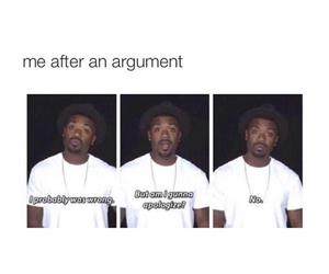 funny, argument, and depression image