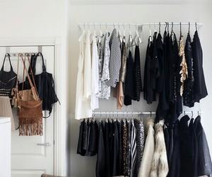 clothes, fashion, and closet image