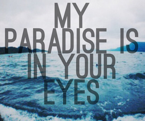 eyes, paradise, and colors image
