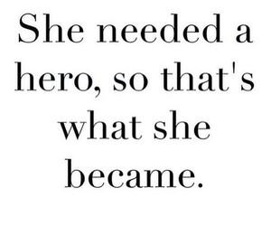 girl, hero, and sad image