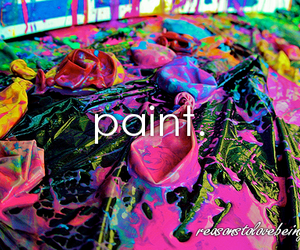 paint, colorful, and colors image
