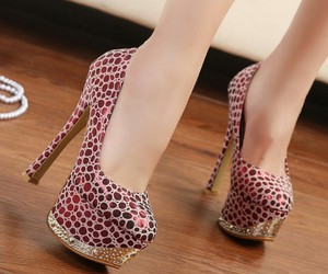 beauty, heels, and belive image