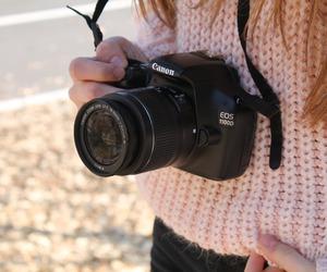 camera, canon, and eos image